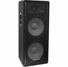 "MARATHON JR-125   COMPACT DUAL 15"" TWO WAY PORTABLE LOUDSPEAKER SYSTEM"