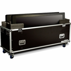 MARATHON MA-2PLASMA63W UNIVERSAL CASE WITH CASTERS FOR TWO (2) PLASMA 63 INCH MONITORS