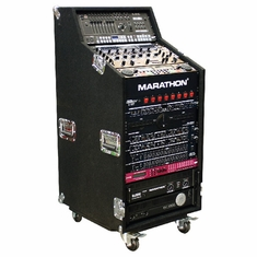 MARATHON MA-CWS16W  Holds 4U Top, 8U Middle, 16U Bottom with Casters