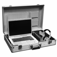 MARATHON MA-ELTS  Euro Style Laptop Case with Side Storage for Accessories