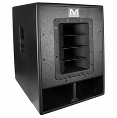 "MARATHON SR-515SW - HIGH POWER ACTIVE 15"" SUBWOOFER SYSTEM - 1200 WATTS - BLACK TEXTURED PAINT"