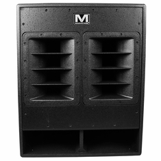 "MARATHON SR-518SW - HIGH POWER ACTIVE 18"" SUBWOOFER SYSTEM - 1200 WATTS - BLACK TEXTURED PAINT"
