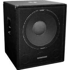 "MARATHON SUB-18X   SINGLE 18"" SUBWOOFER SYSTEM"
