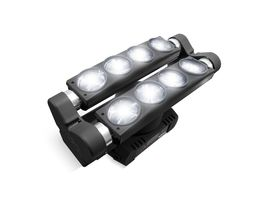 MARQ RAY TRACER X Dual Roller White Multi-Beam Light on Rotating Base
