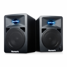 NUMARK N-WAVE 580 (Pair) Powered Desktop DJ Monitors