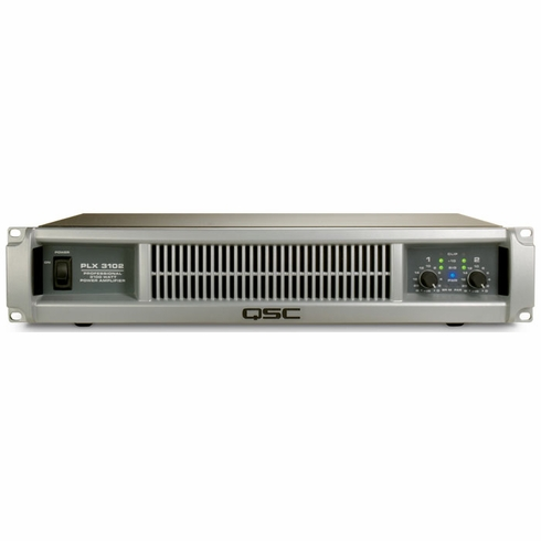 QSC PLX-3102 Dual Channel Amplifier with PowerLight Technology