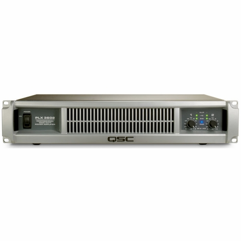 QSC PLX-3602 Dual Channel Amplifier with PowerLight Technology