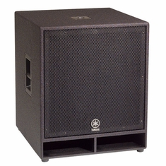 "YAMAHA CW118V Single 18"" Club Series V Subwoofer"