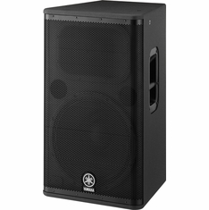 "YAMAHA DSR115 15"" 2-Way Bi-Amp Powered Speaker, Bass Reflex Type"