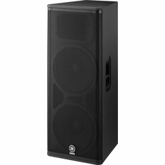 "YAMAHA DSR215 Dual 15"" 2-Way Bi-Amp Powered Speaker, Bass Reflex Type"
