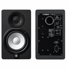 """YAMAHA HS5 - 5"""" POWERED STUDIO MONITOR, WHITE POLYPROPYLENE WOOFER AND NEWLY DESIGNED DOME TWEETER. BI-AMP POWER AMPLIFIERS"""