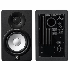 """YAMAHA HS7 - 6.5"""" POWERED STUDIO MONITOR, WHITE POLYPROPYLENE WOOFER AND NEWLY DESIGNED DOME TWEETER. BI-AMP POWER AMPLIFIERS"""