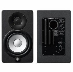 "YAMAHA HS8 - 8"" POWERED STUDIO MONITOR, WHITE POLYPROPYLENE WOOFER AND NEWLY DESIGNED DOME TWEETER. BI-AMP POWER AMPLIFIERS"