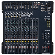 YAMAHA MG166C 6-bus format extra options for Monitoring and Live Recording