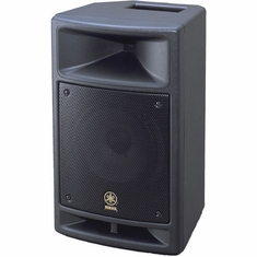 "YAMAHA MSR100 Powered Speaker 100 Watts with 1"" Titanium Tweeter"