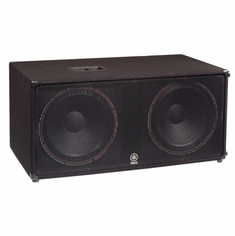 "YAMAHA SW218V High Power Dual 18"" Subwoofer"