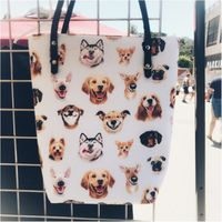 Smiling Dogs Tote