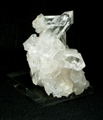 A Grade A Arkansas Rock Crystal Plate Cluster, Small Cabinet
