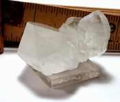 Arkansas Doubly-Terminated Crystal Floater Cluster