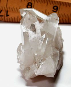 Arkansas Quartz Cluster, Isis Faces, Veil Phantoms