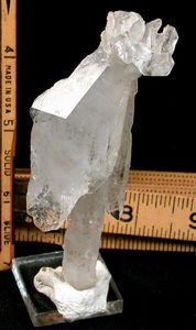 Awesome Tabular Rock Crystal Scepter, Rare Dogtooth Stick