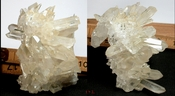 Collier Creek Golden Healer 1/2 Burr, Glittering After Calcite Side