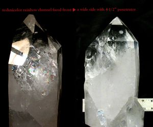 Extra Large Cabinet Arkansas Tabular Crystal with Manifestation Cluster