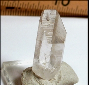 Impeccable Rare Natural Tabular Arkansas SMOKY Quartz Crystal, Miniature