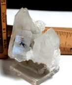 Intricate Arkansas Blue Phantom Quartz Quantum Cluster