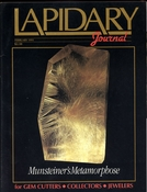 Lapidary Journal, February 1991 SOLD