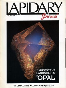 Lapidary Journal, June 1992