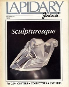 Lapidary Journal, October 1990