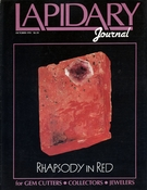 Lapidary Journal, October 1991 SOLD