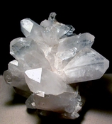 Large 'Butterfly' Tabular Quartz Crystal Cluster