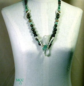 Montgomery Crystal Co's Necklaces - Combining Our Rock Crystals with Metals and Other Semiprecious Stones and Beads