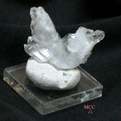 SOLD: Angel Wings - Arkansas Natural Gem Rock Crystal