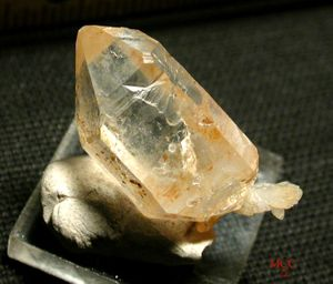 SOLD:  Humor & Whimsy - Fishtail Arkansas Golden Doubly-Terminated Rock Crystal