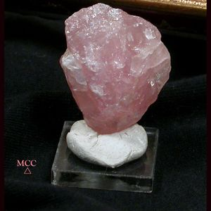 SOLD: SWEET Rose Quartz Nugget Rough - South Dakota Natural