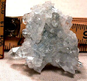 SOLD: Sparkling Arkansas Crystal Cluster, Sandstone Matrix