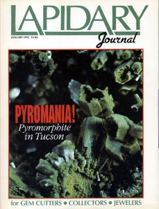 The Monthly Issues of Lapidary Journal, 1992