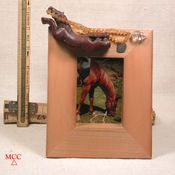 WILDEST DREAMS - Handmade Light Maple Frame With Arkansas Doubly-Terminated Crystal and Good Luck Charms