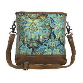 Myra Bag - Aqua Trail Shoulder Bag