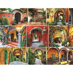 Doors of the World 500 Piece Puzzle