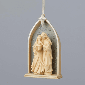 Foundations Nativity Ornament