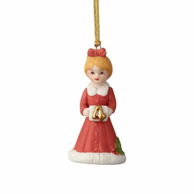 Growing up Girl Blonde Age 04 Ornament