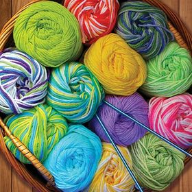 Colorful Yarn 500 Piece Puzzle