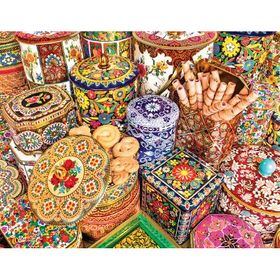 Cookie Tins 500 Piece Puzzle