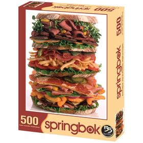 Snack Stack 500 Piece Puzzle