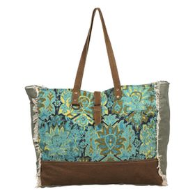 Myra Bag - Aqua Magic Weekend Bag