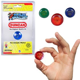 World's Smallest Duncan Yo-Yo